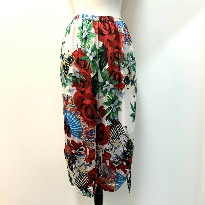 URU Floral Ruched Pants.