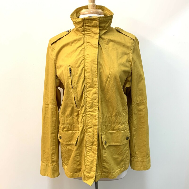 Love Tree Cargo Jacket<br /> Honey Yellow<br /> Size: Fits Large