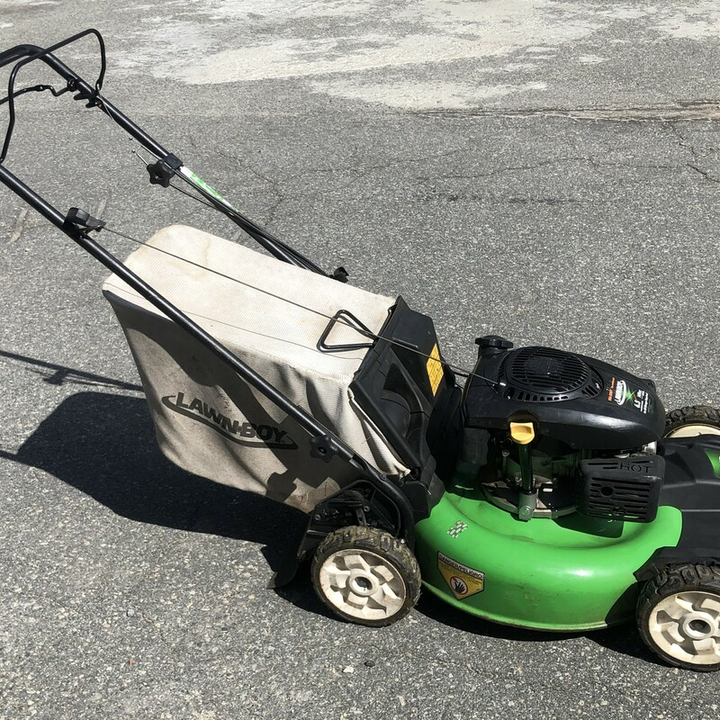 Gas Lawn Mower.