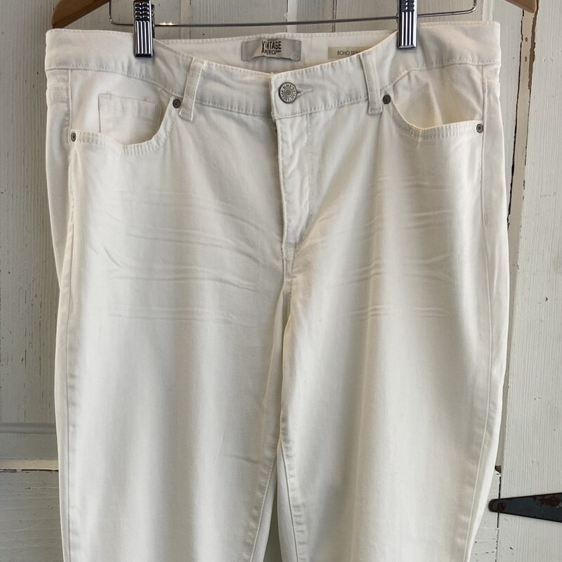 White Denim Jeans.
