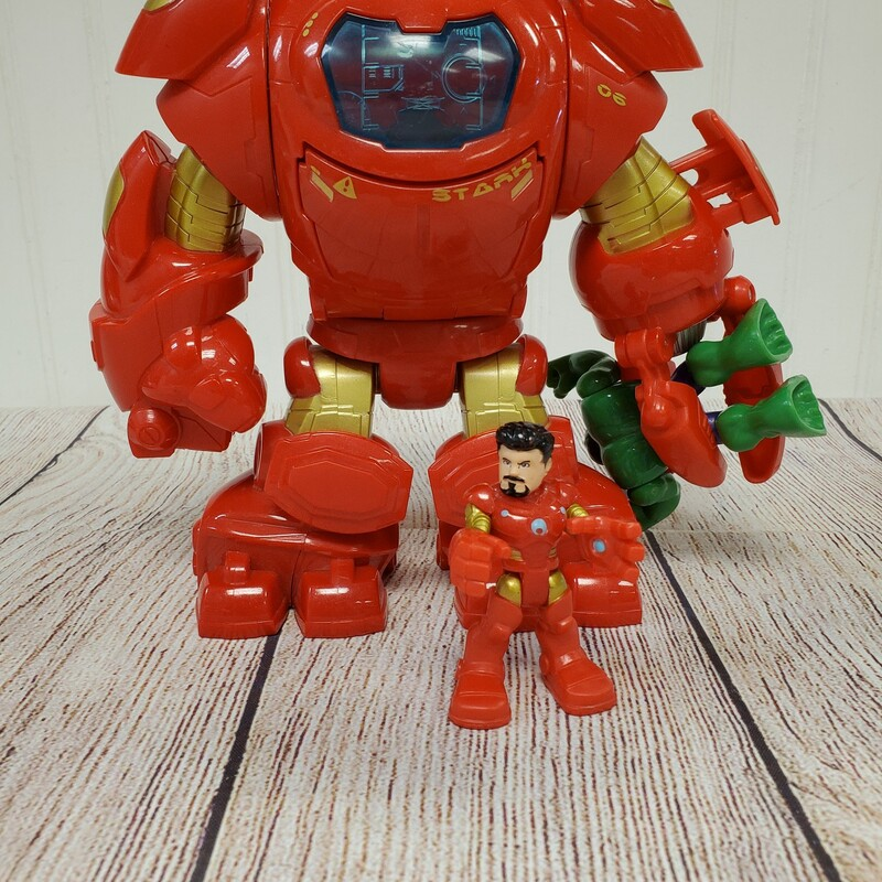 Imaginext Hulk Buster, Red