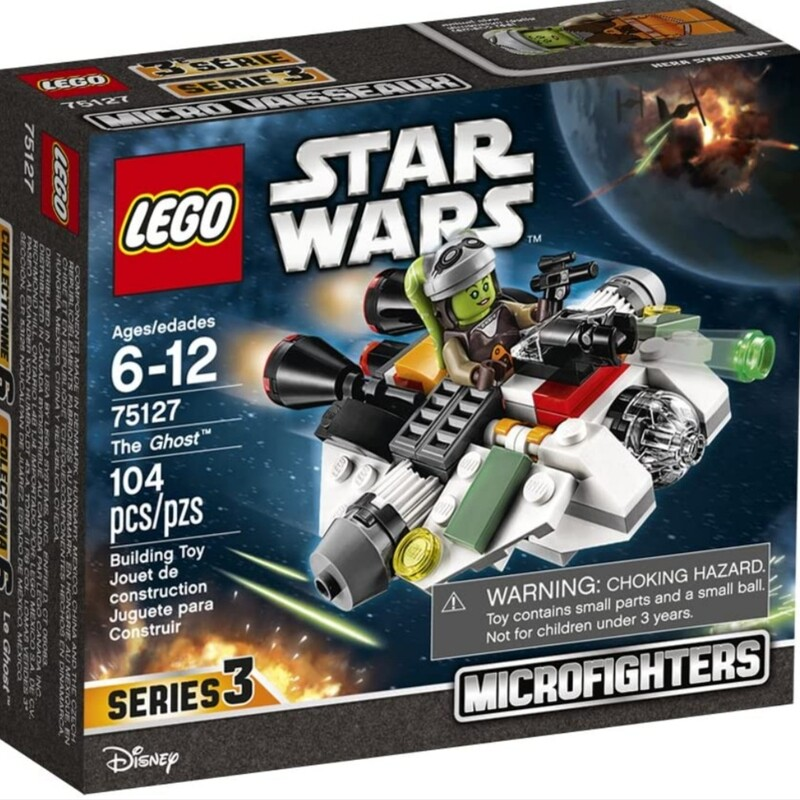 Lego Star Wars 75127: The Ghost Microfighter<br /> Complete Set