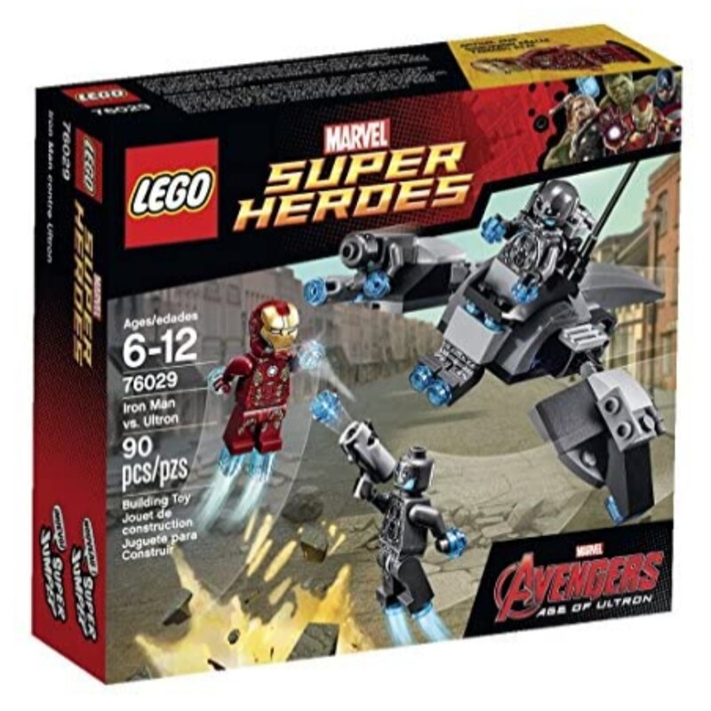 Lego 76029: Iron Man vs. Ultron<br /> Complete Set