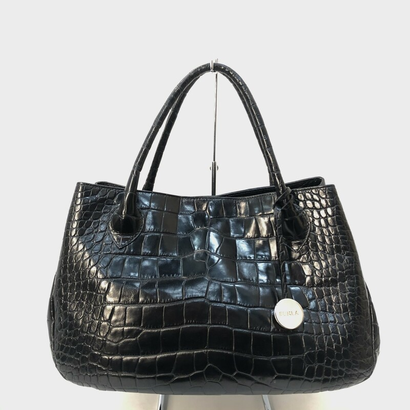 Mulberry East West Croc.