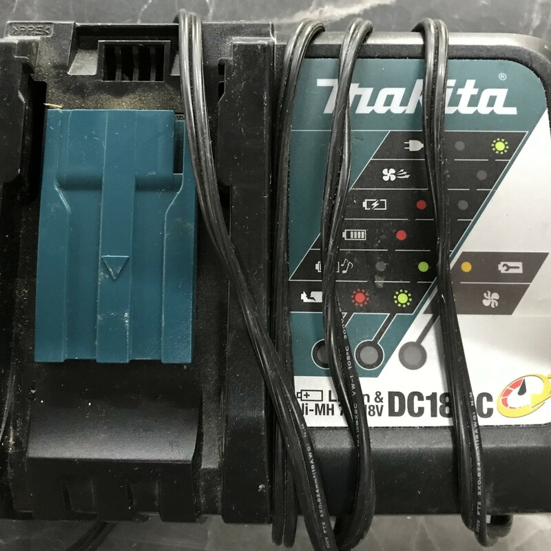 Charger, Makita, Size: 7.2-18V<br /> Li-ion and Ni-Mh