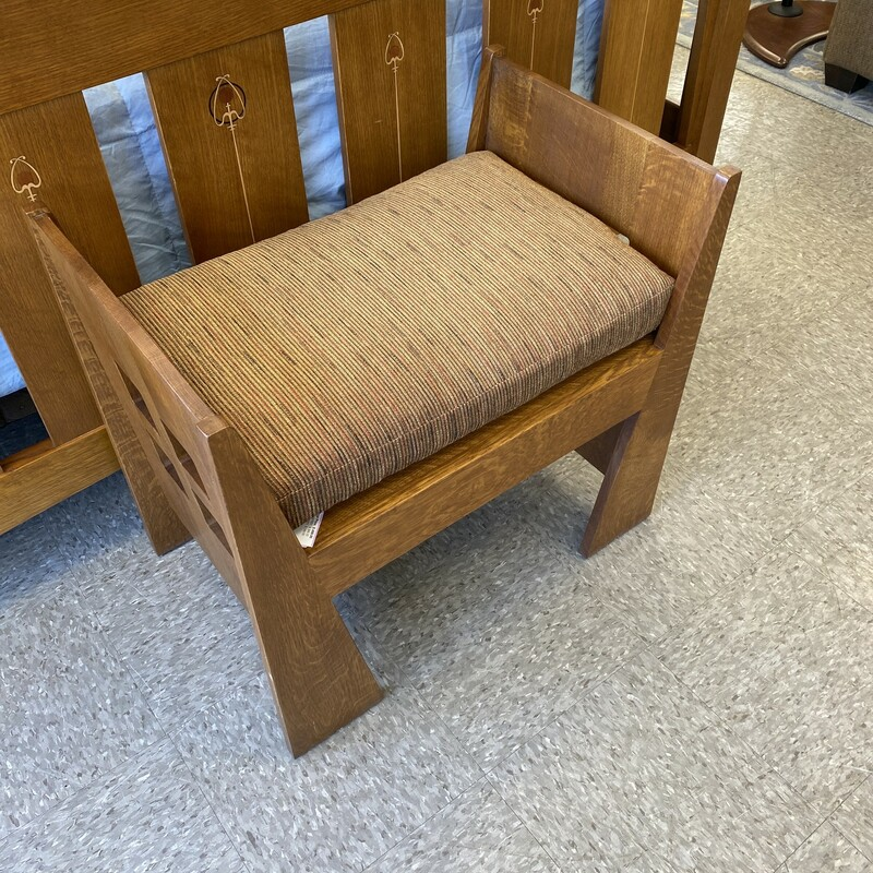 Stickley Small Bench.