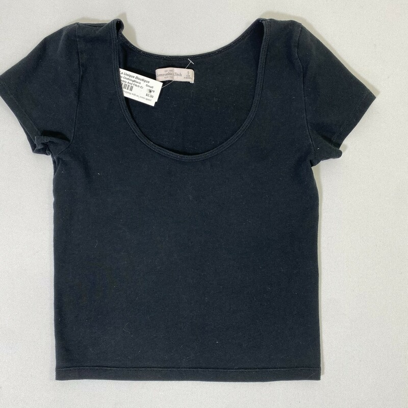 Abercrombie And Fitch Cro, Black, Size: Small