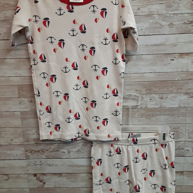 Hanna Andersson Pjs, Ivory, Size: 10 Boys