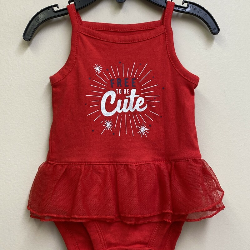 Carters NWT, Red, Size: NB