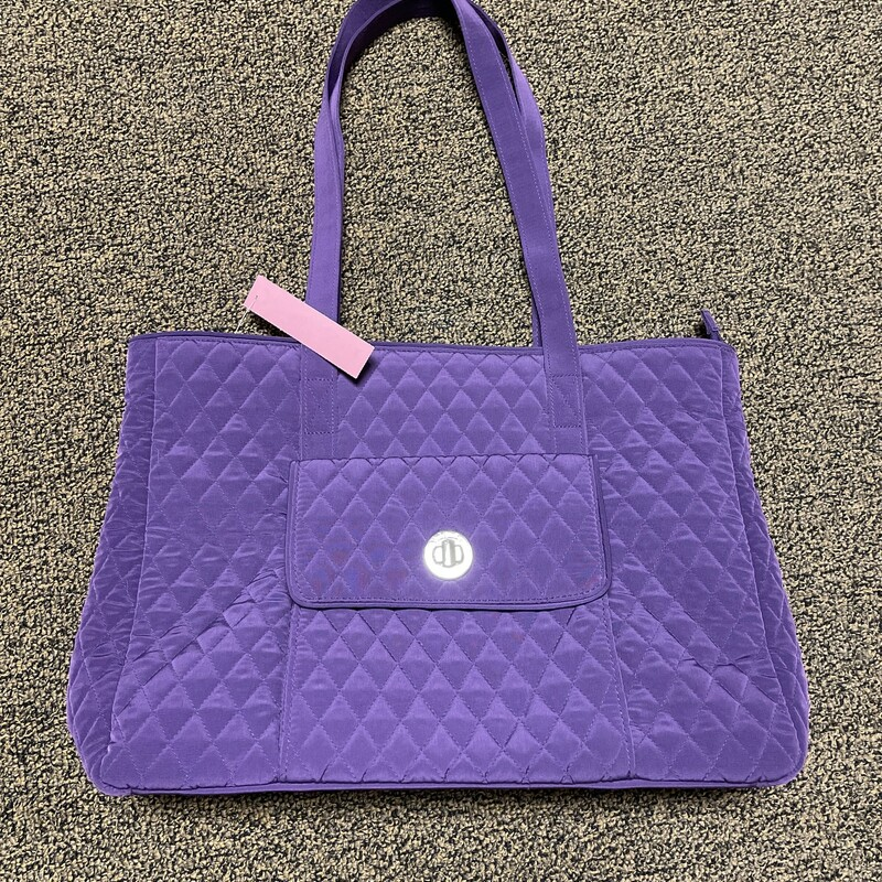 Quilted Tote/Computer Bag.