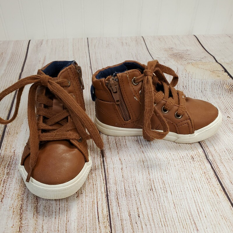Cat & Jack Hi Tops, Brown, Size: Shoe 6
