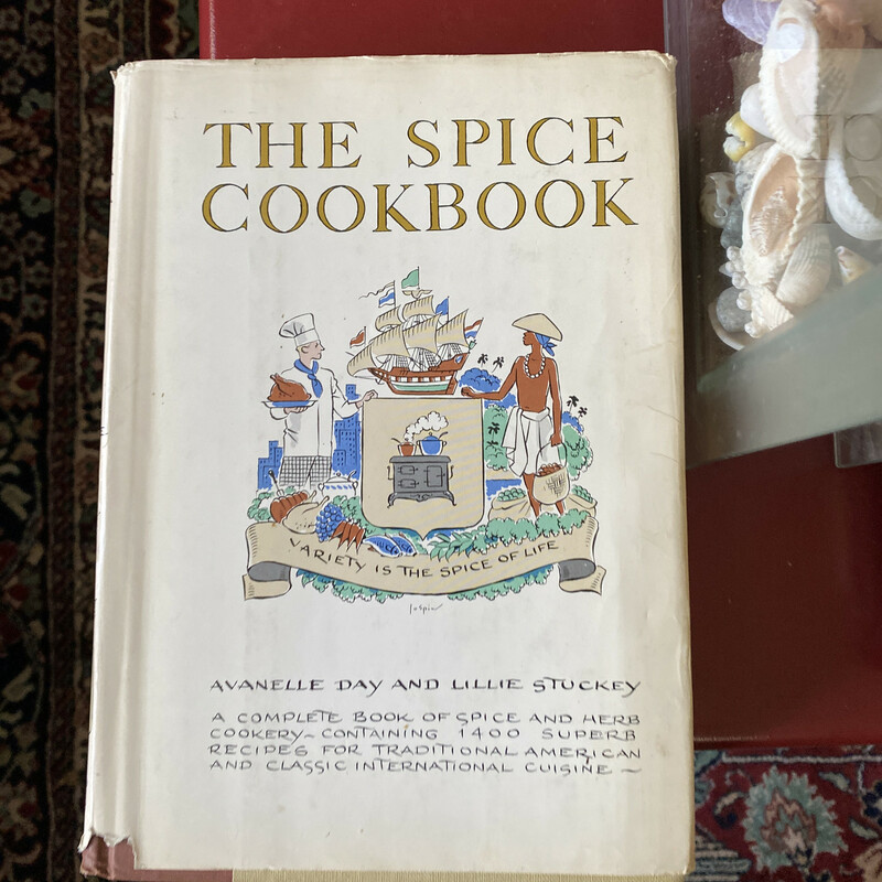 The Spice Cookbook.