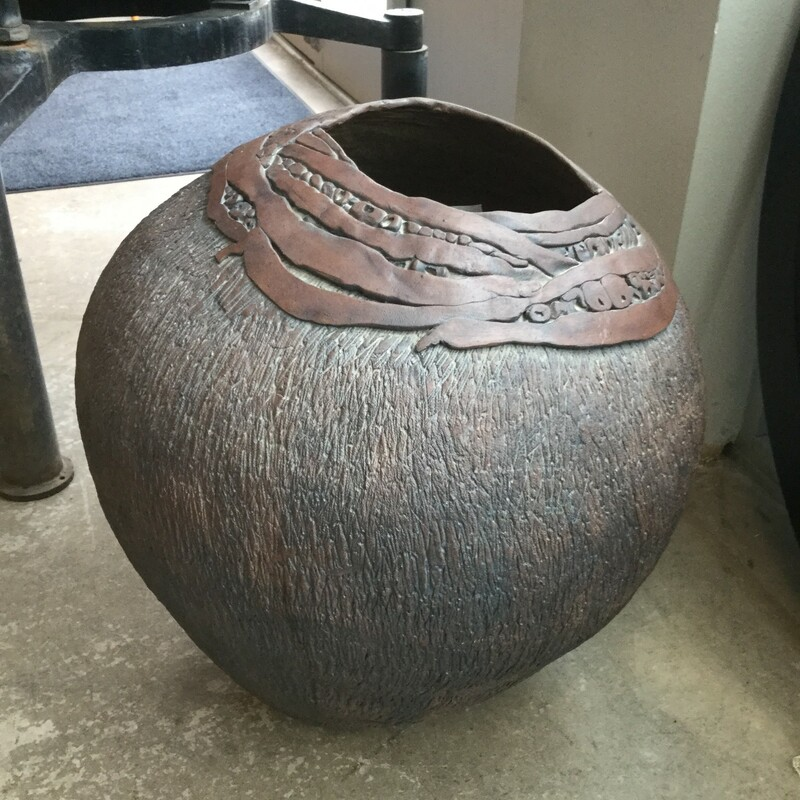 Barbara Walker Clay Pot.