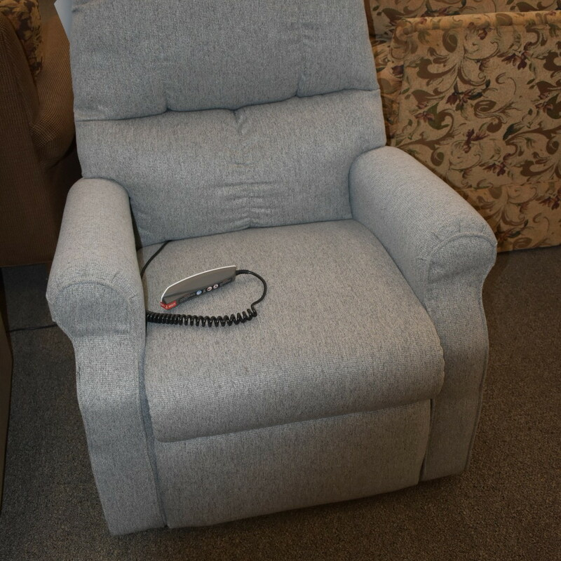 Grey Lift Chair.