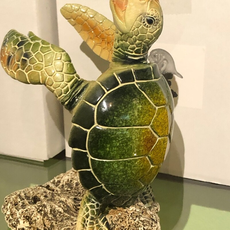 Green Turtle Bottleholder.