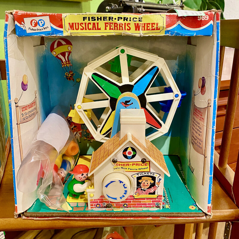 Toy Ferris Wheel Musical.