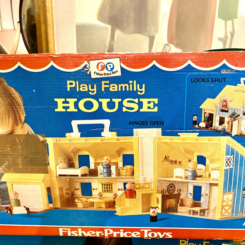 Toy House Fisher Price.
