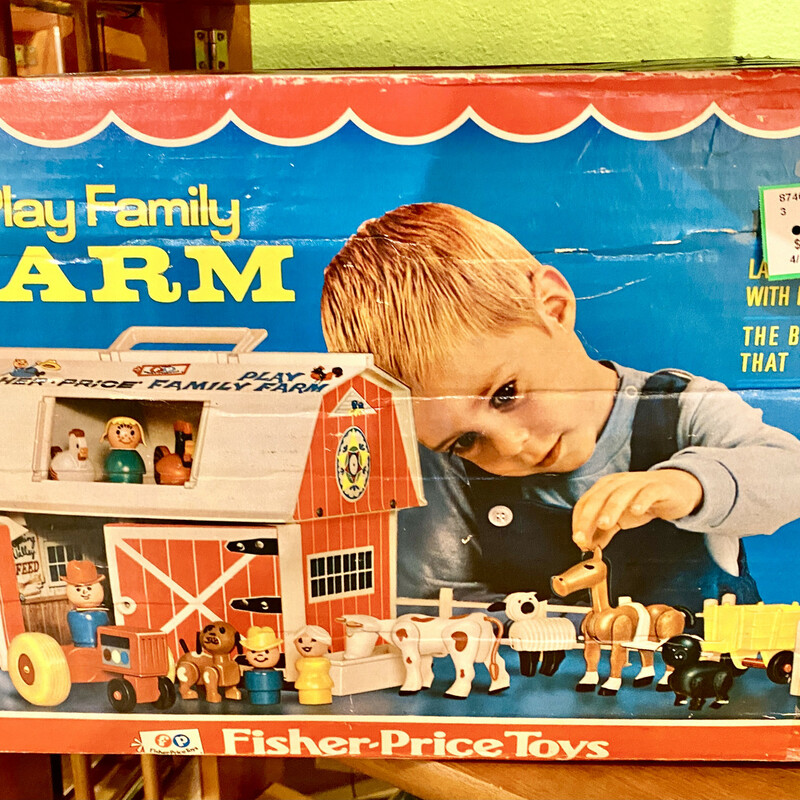 Toy Farm Fisher Price.
