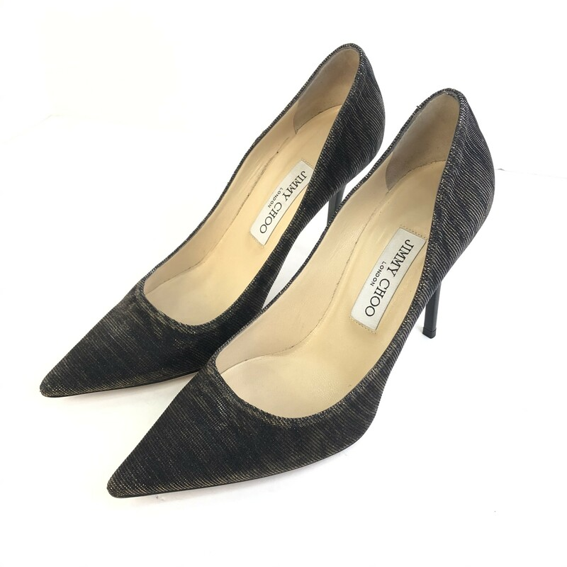 Jimmy Choo Zebra Pumps, Size 37.5, $129.99