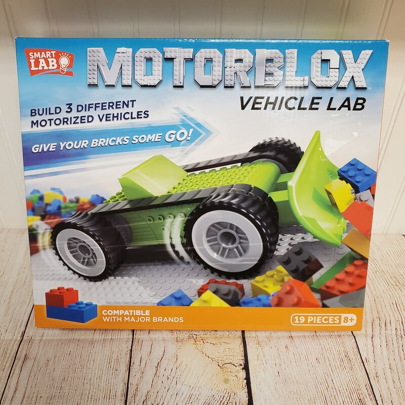 Motorblox Vehicle Lab, NEW