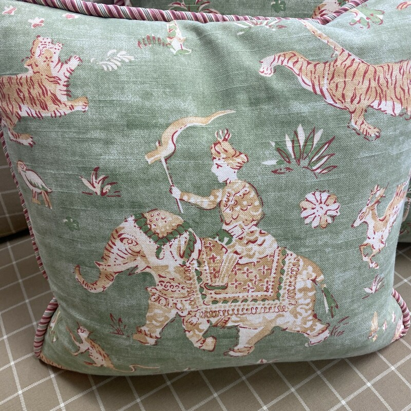 India Inspired Pillow.