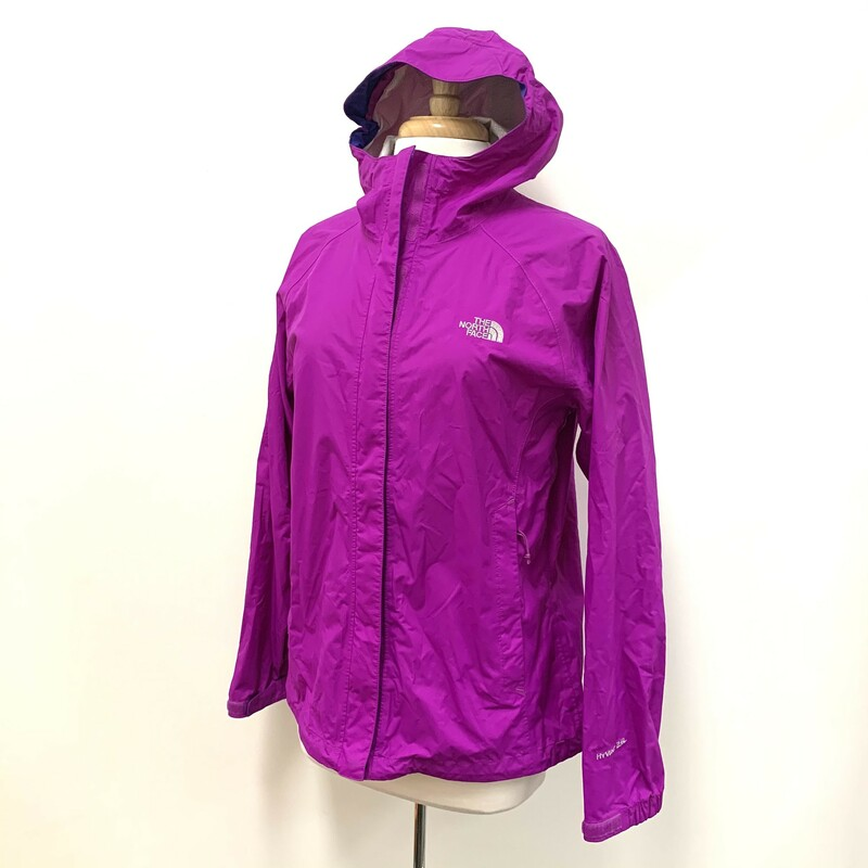North Face Rain Jacket<br /> Waterproof<br /> Orchid purple<br /> Size: Medium