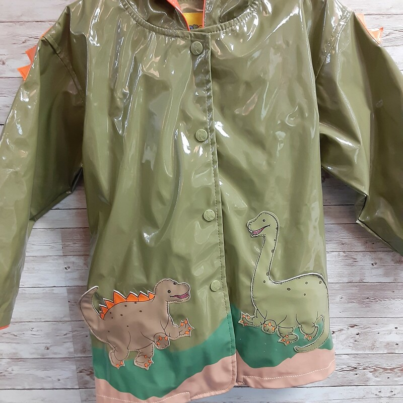 Kidorable Dino Rainjacket.