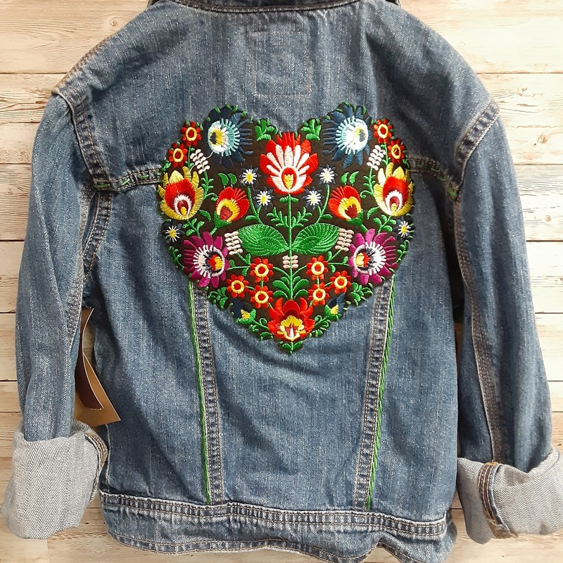 Re-Threads Heart Jacket.