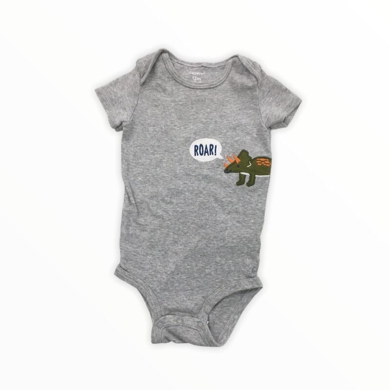 Onesie, Boy, Size: 12m<br /> <br /> #resalerocks #carters #pipsqueakresale #vancouverwa #portland #reusereducerecycle #fashiononabudget #chooseused #consignment #savemoney #shoplocal #weship #keepusopen #shoplocalonline #resale #resaleboutique #mommyandme #minime #fashion #reseller                                                                                                                                      Cross posted, items are located at #PipsqueakResaleBoutique, payments accepted: cash, paypal & credit cards. Any flaws will be described in the comments. More pictures available with link above. Local pick up available at the #VancouverMall, tax will be added (not included in price), shipping available (not included in price), item can be placed on hold with communication, message with any questions. Join Pipsqueak Resale - Online to see all the new items! Follow us on IG @pipsqueakresale & Thanks for looking! Due to the nature of consignment, any known flaws will be described; ALL SHIPPED SALES ARE FINAL. All items are currently located inside Pipsqueak Resale Boutique as a store front items purchased on location before items are prepared for shipment will be refunded.