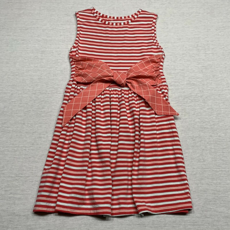 Striped Knit Dress.