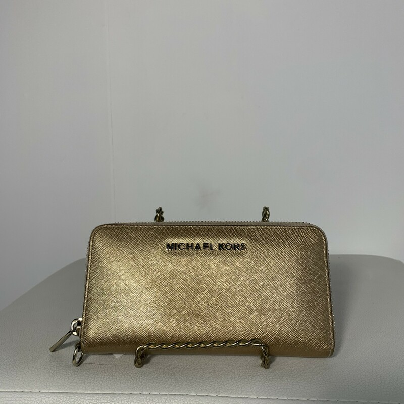 Michael Kors, Solid, Size: Gold