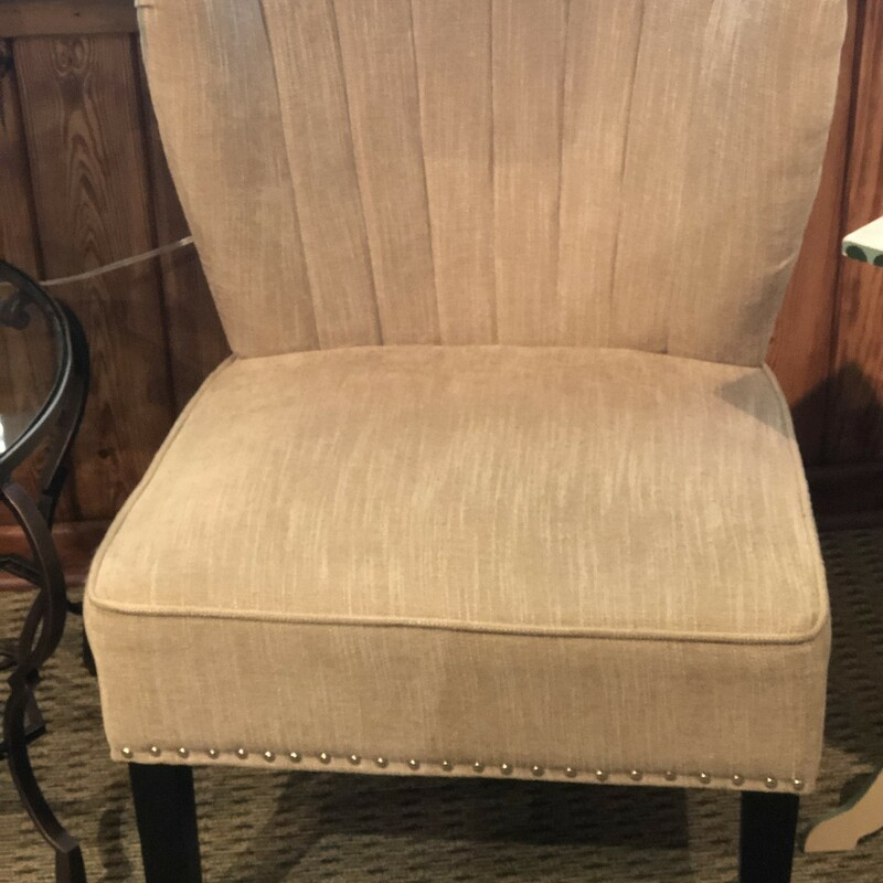 Taupe Accent Chairs.