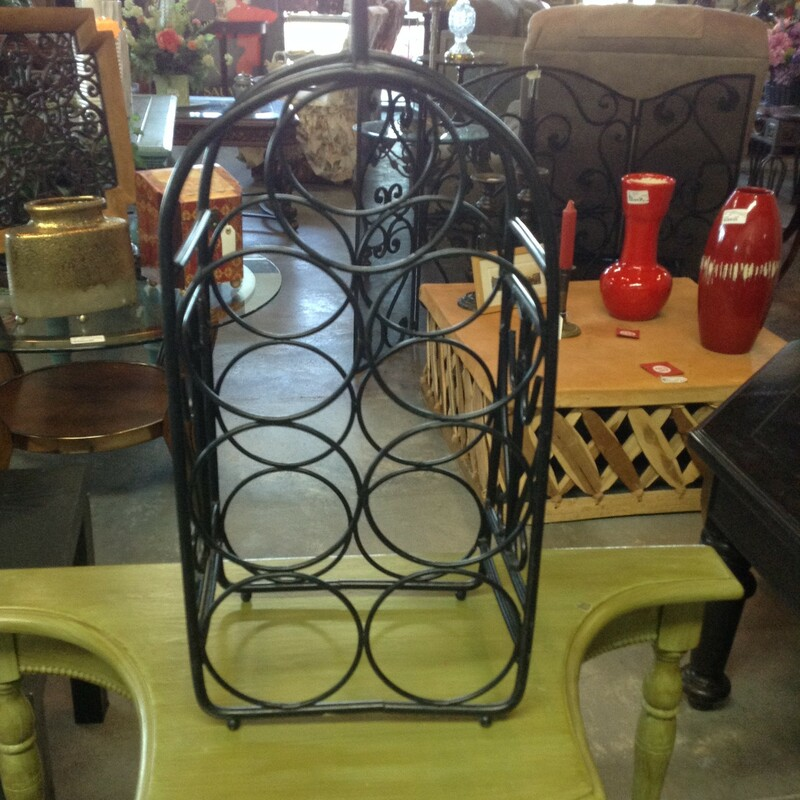 Bk Metal Wine Rack.
