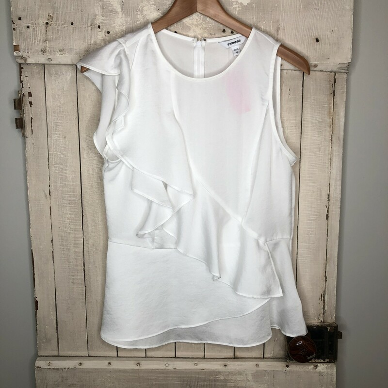 Top Express, White, Size: Medium