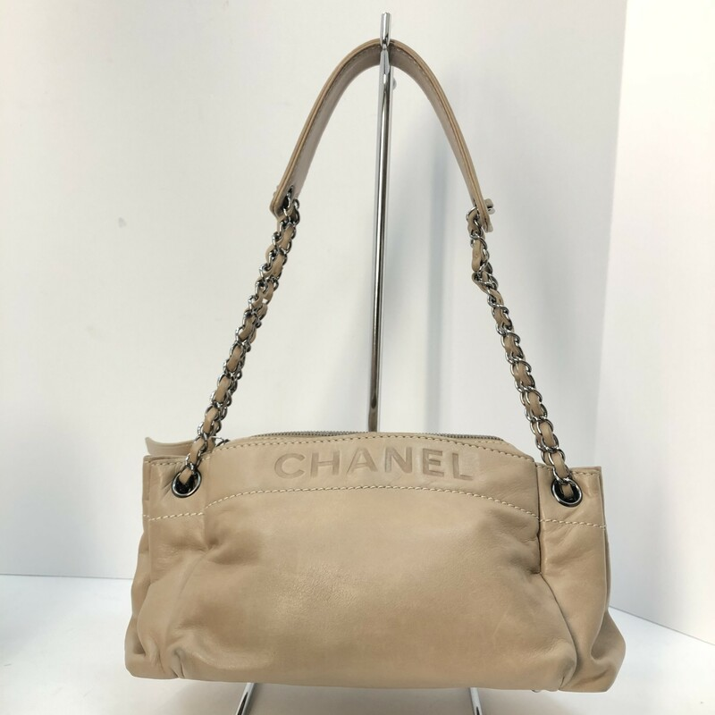 Chanel Lambskin Lax Accordian Shoulder Bag, $999.99