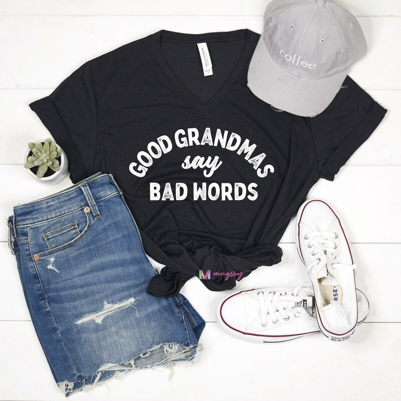 Shirt (Grandma Bad Words) New, Womens, Size: M<br /> <br /> #resalerocks #pipsqueakresale #vancouverwa #portland #reusereducerecycle #fashiononabudget #chooseused #consignment #savemoney #shoplocal #weship #keepusopen #shoplocalonline #resale #resaleboutique #mommyandme #minime #fashion #reseller                                                                                                                                      Cross posted, items are located at #PipsqueakResaleBoutique, payments accepted: cash, paypal & credit cards. Any flaws will be described in the comments. More pictures available with link above. Local pick up available at the #VancouverMall, tax will be added (not included in price), shipping available (not included in price), item can be placed on hold with communication, message with any questions. Join Pipsqueak Resale - Online to see all the new items! Follow us on IG @pipsqueakresale & Thanks for looking! Due to the nature of consignment, any known flaws will be described; ALL SHIPPED SALES ARE FINAL. All items are currently located inside Pipsqueak Resale Boutique as a store front items purchased on location before items are prepared for shipment will be refunded.
