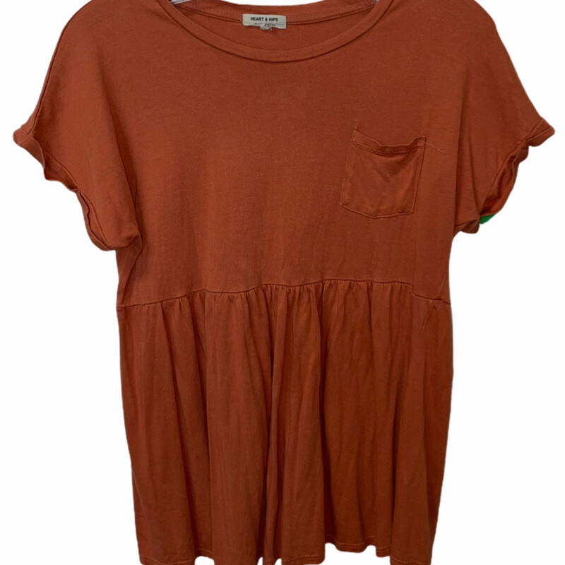 Orange  Boutique Shirt.