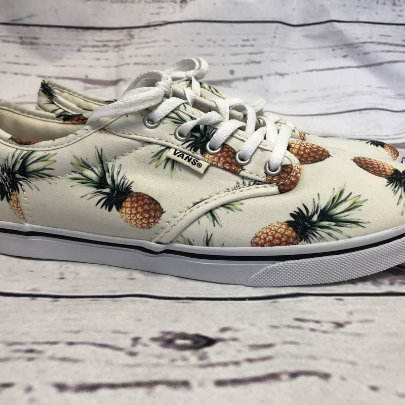 NEW Vans Pineapple Sneakers!  These would be adorable for your spring/summer outfits!