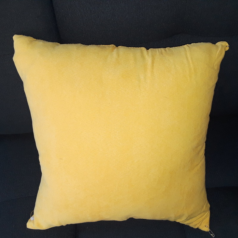 Yellow Cushion, None, Size: None