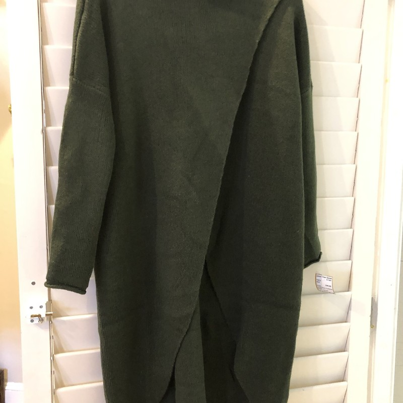 Long Green turtleneck S, label has been removed