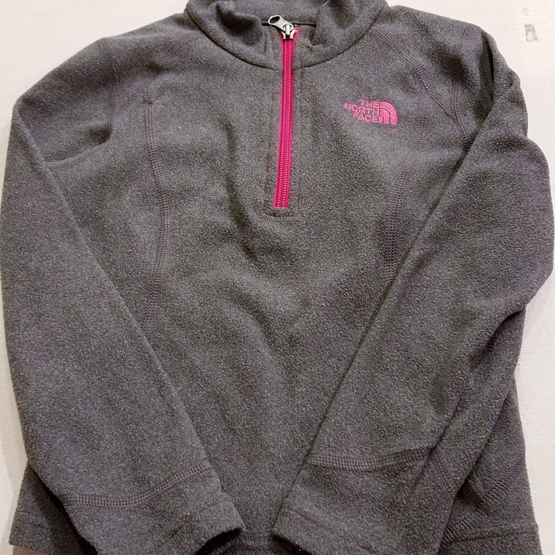 The North Face Pullover Grey, Size: 6