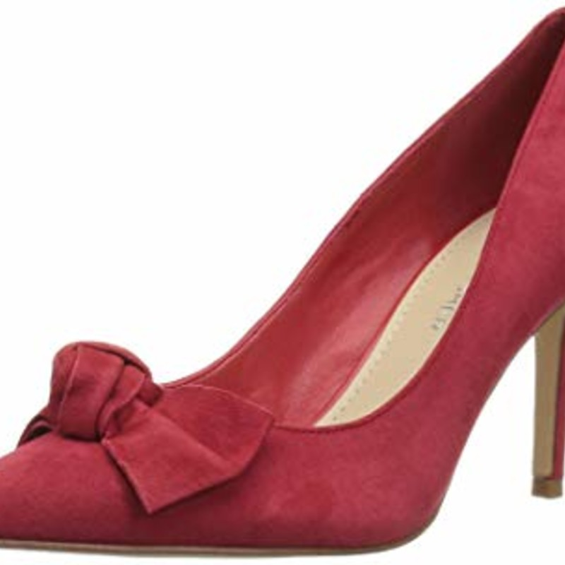 Marc Fisher Women's DORENY Pump, red size 8.5