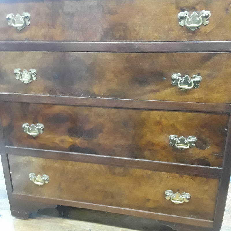 Mahogany Chest Of Drawers, None, Size: None