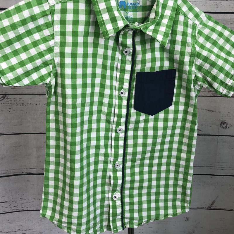 Rugged Butts short sleeve button up.