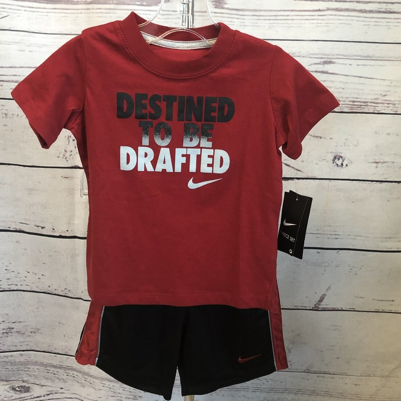 NEW with tags Nike 2 piece outfit. Short sleeve and shorts.