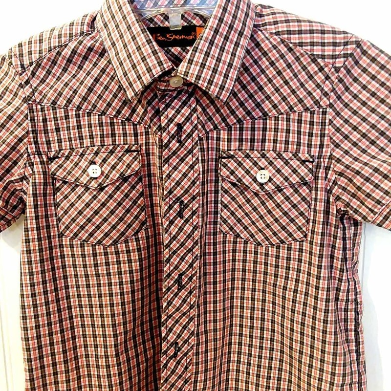 Ben Sherman Button Up, Size: 3-4