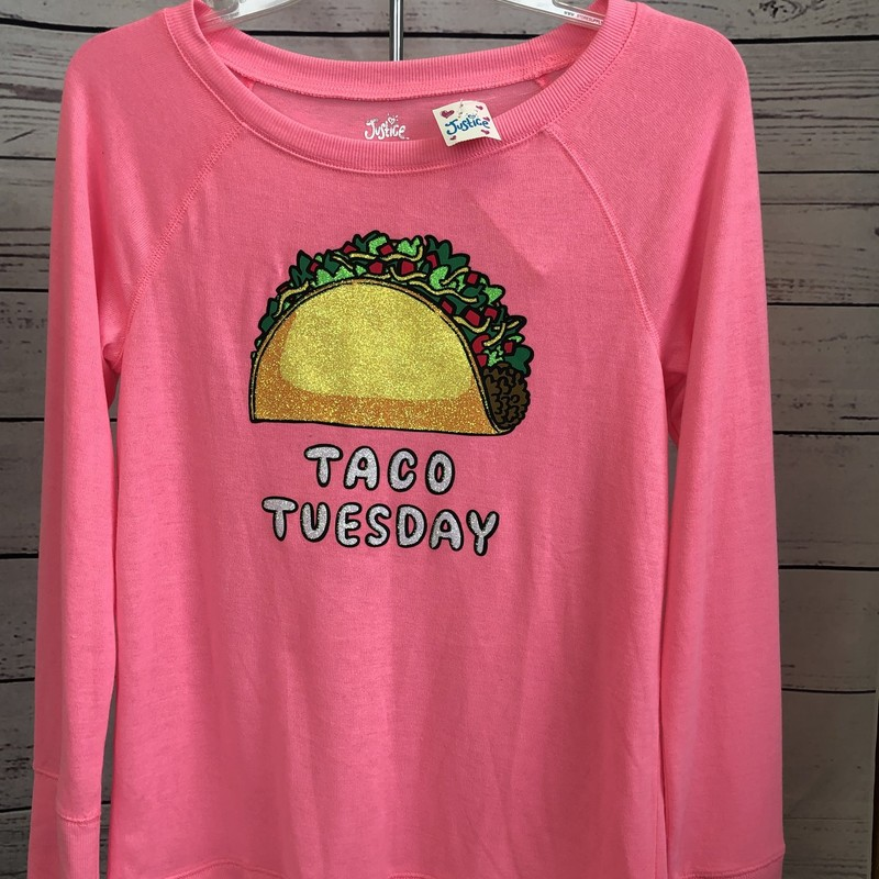 NEW with tags Justice long sleeve shirt. Taco Tuesday!