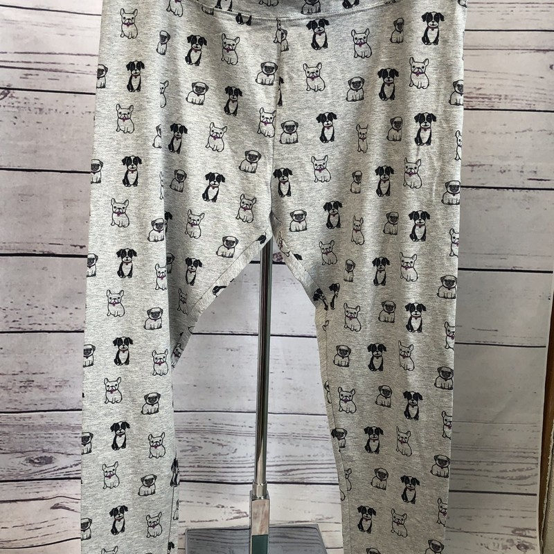 NEW with tags Justice Leggings with puppies printed all over!!