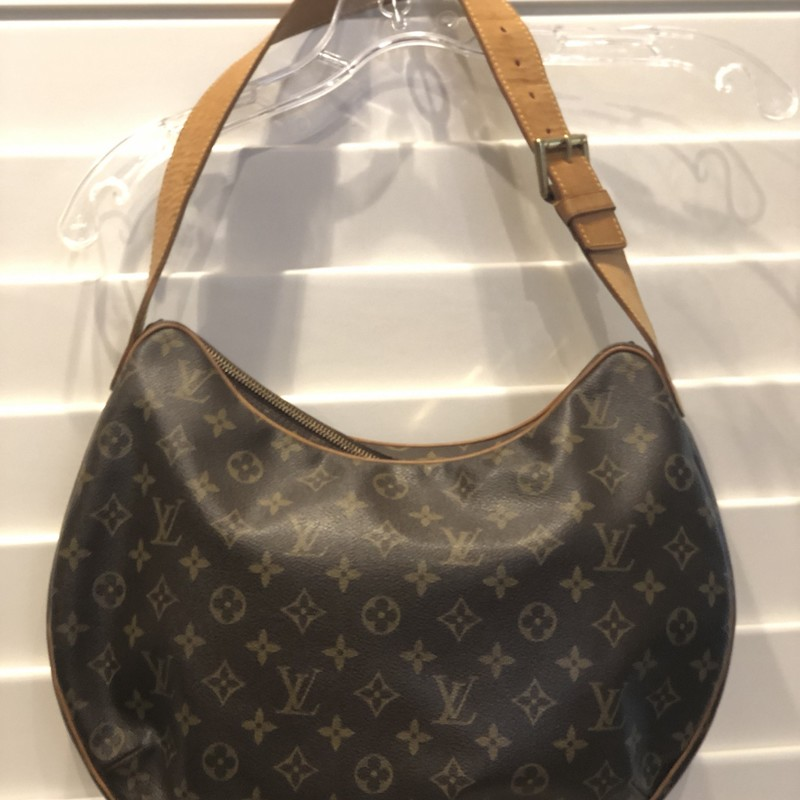 Louis Vuitton Croissant G, Brown, Size: GM<br /> very good vintage condition