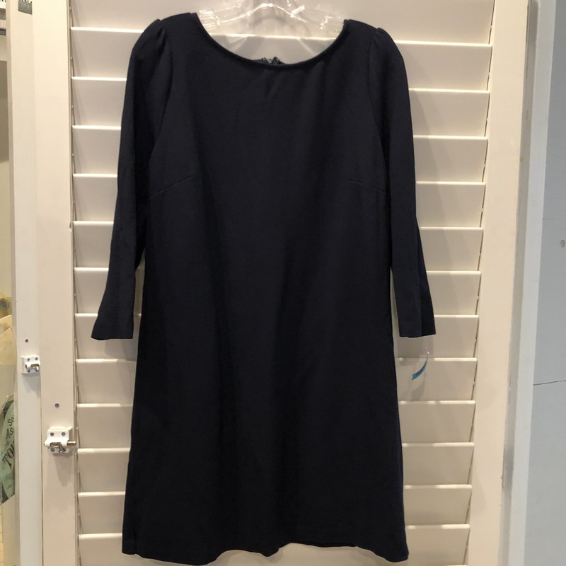 Ann Taylor, Navy, Size: 12<br /> Has stretch to hit your curves in the right places.